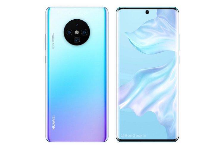 Huawei Mate 30 Pro leak suggests triple rear camera with two 40-megapixel sensors