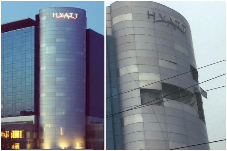 Watch panels from Chennais Hyatt hotel fly-off in Cyclone Vardah