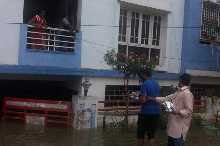 Spirit of Hyderabad in full display as citizens come together to help the flood-affected