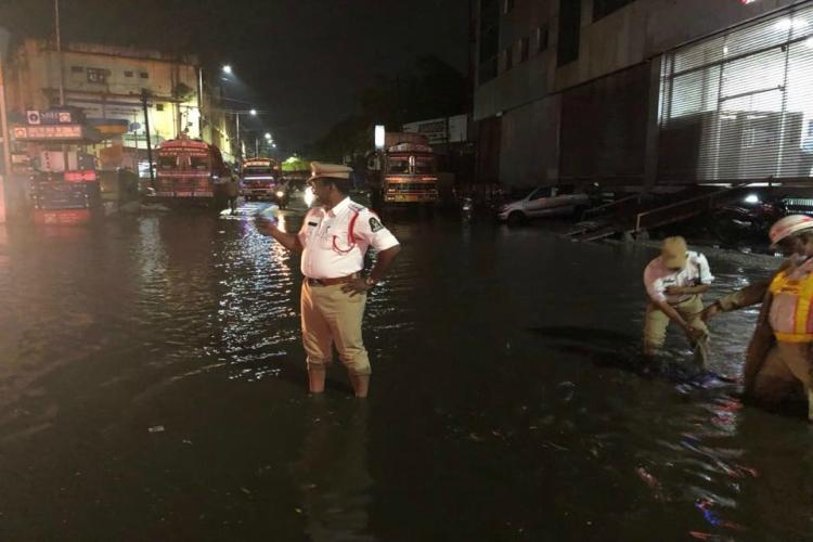 Traffic snarls, flooded streets, and uprooted trees are a given every time  Hyderabad witnesses a downpour. But for the staff of the Greater Hyderabad  ...