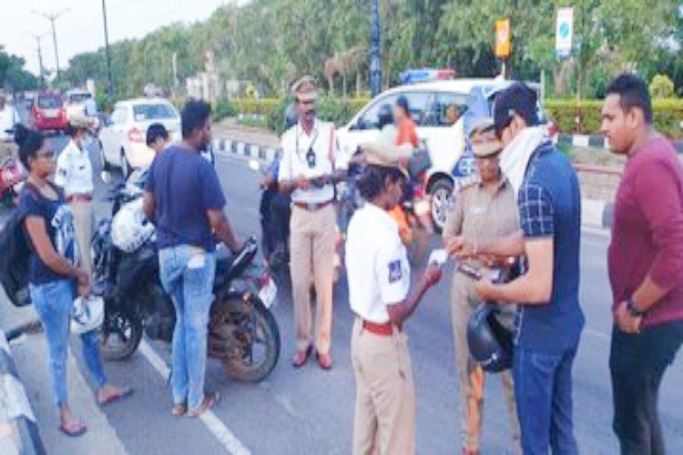 Helmets compulsory for pillion riders as well Rachakonda police