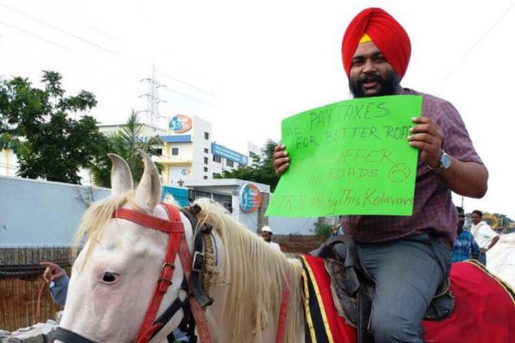 Five times Hyderabadis protested innovatively and grabbed headlines