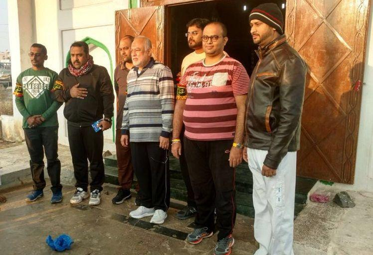 From Hyderabad to Iraq mostly on foot Seven men walk to the holy site of Karbala