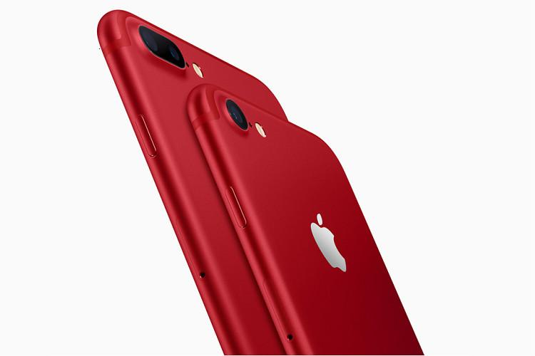 iPhone 7 goes red to help fight AIDS