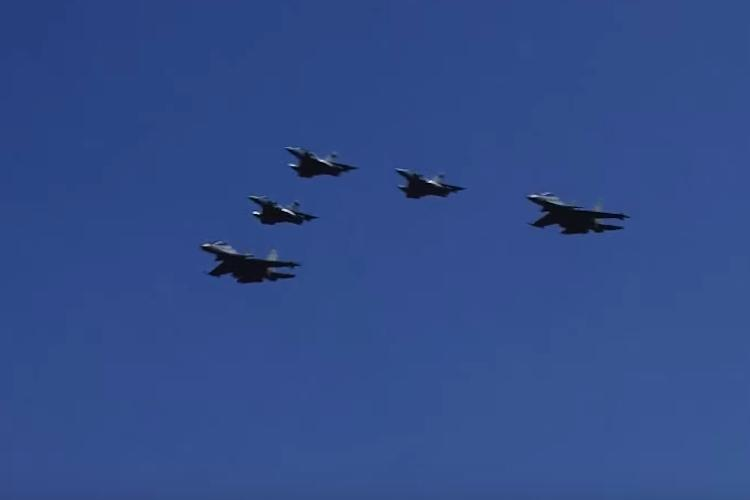 On Air Force Day India flies the Sukhoi-30MKI that Pak claimed to have shot down