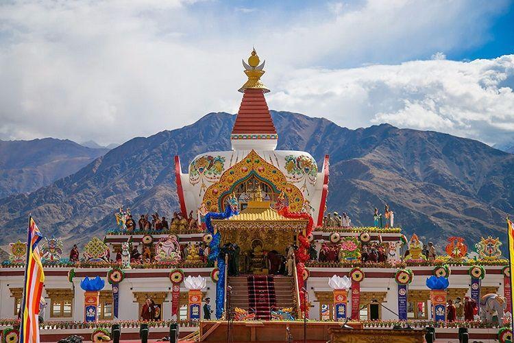 Ladakh where Buddhist spirituality culture reign supreme