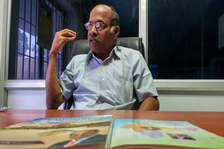 Knowledge is for sharing Coimbatore professor who coaches IAS aspirants for free