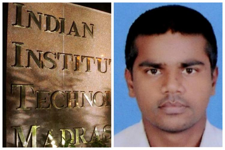 M-tech student commits suicide at IIT Madras