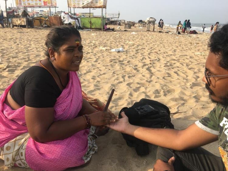 How the dwindling women astrologers of Chennais beaches sell hope for a living