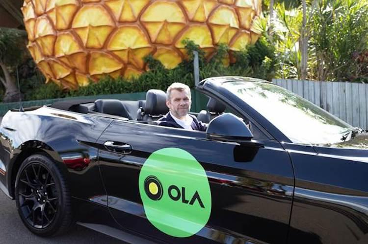 Ola expands operations in Australia launches services in Sunshine Coast