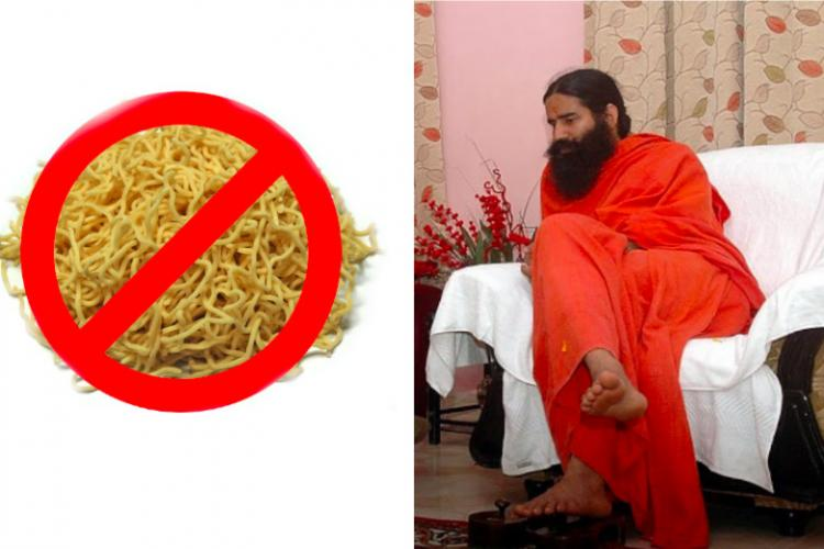Dont eat Baba Ramdevs noodles just yet FSSAI says its not approved