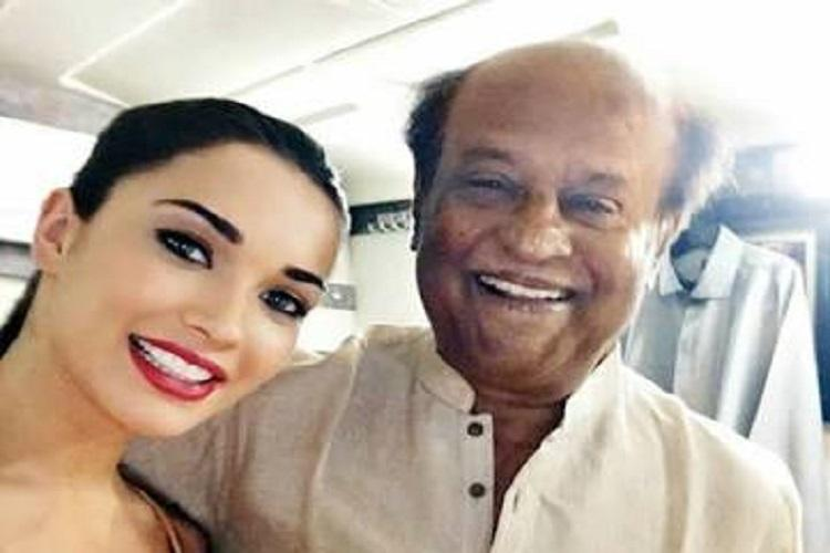 Rajinikanth taught me to be patient disciplined Amy Jackson on working with the Superstar