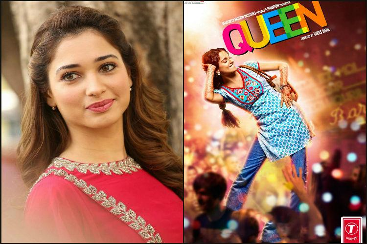 Tamannaah Revathi and Suhasini team up for Tamil remake of Queen
