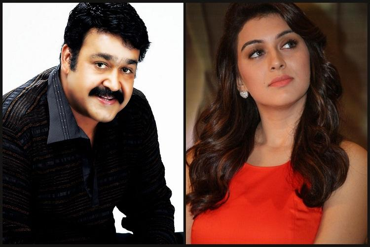 Hansika forays into Mollywood with Mohanlals film