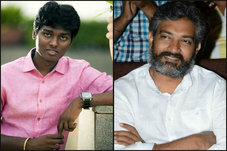 Atlee thrilled to get call from Baahubali director Rajamouli