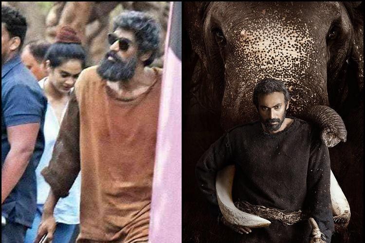 Pictures of Ranas unkempt look from Haathi Mere Saathi leaked online