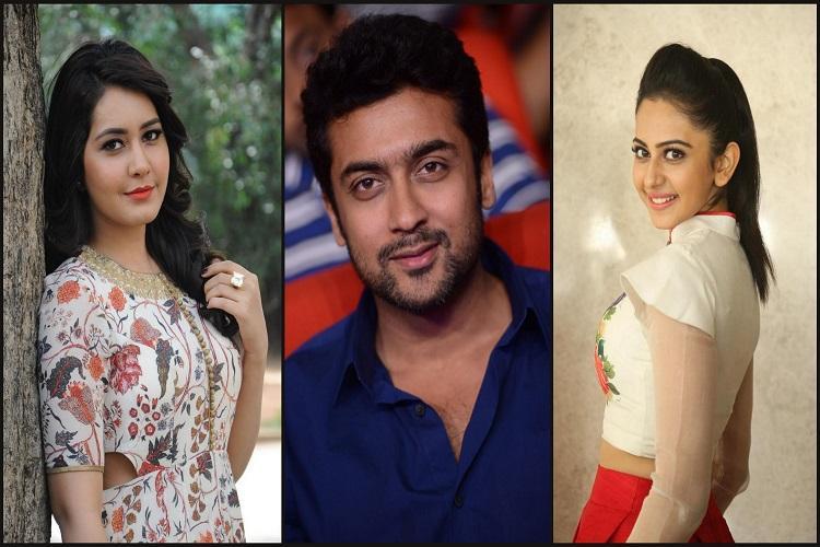 Will it be Rakul Preet or Raashi Khanna for Suriyas next