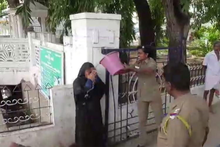 Cash for job TN woman threatens to immolate self says civic officials demanded bribe