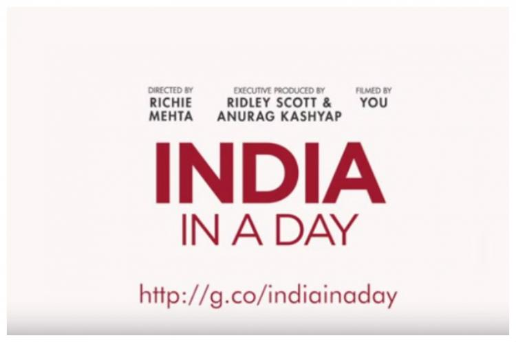 Grab your camera and tell the story of India in a day