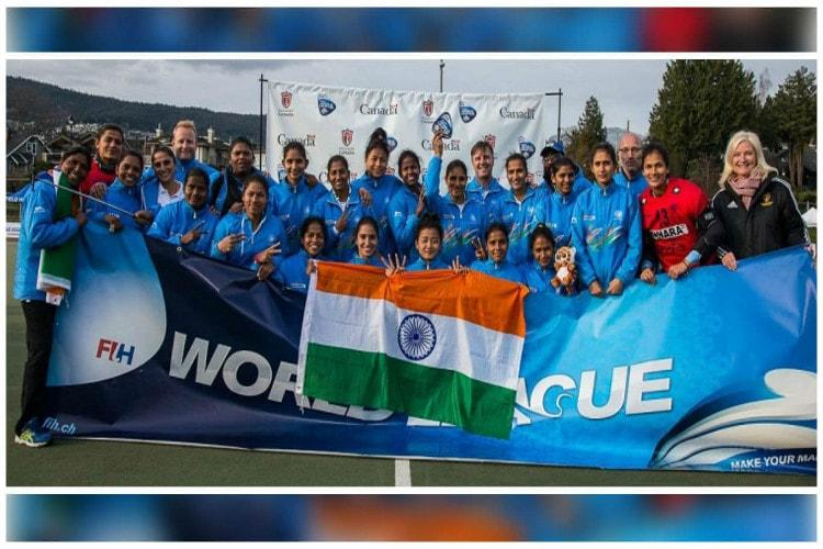 Indian women beat Chile in tense final to win Hockey World League Round 2