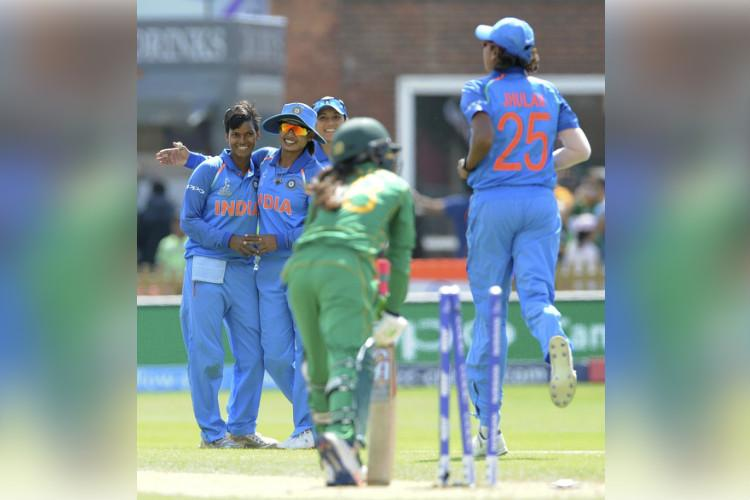 Cricket Indian women on a roll thrash Pak to notch up third successive win in World Cup