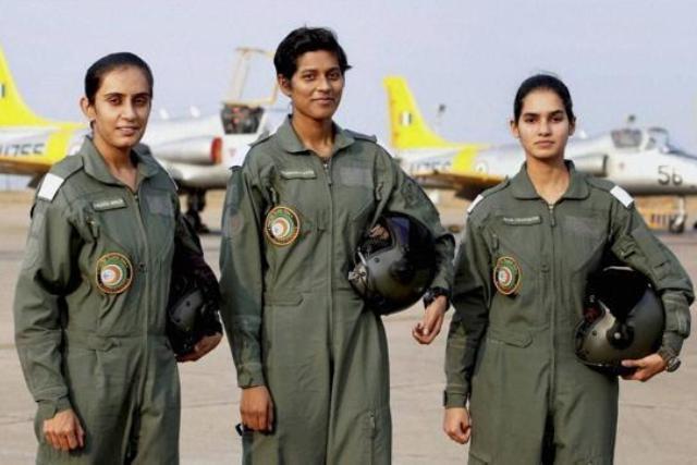 Jet set go Indias first women fighter jet pilots graduate