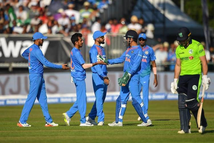 All-round India hammer Ireland by 76 runs in first T20