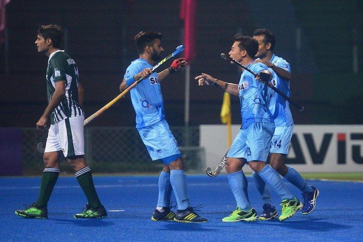 India thrash Pakistan 4-0 to enter Asia Cup hockey final