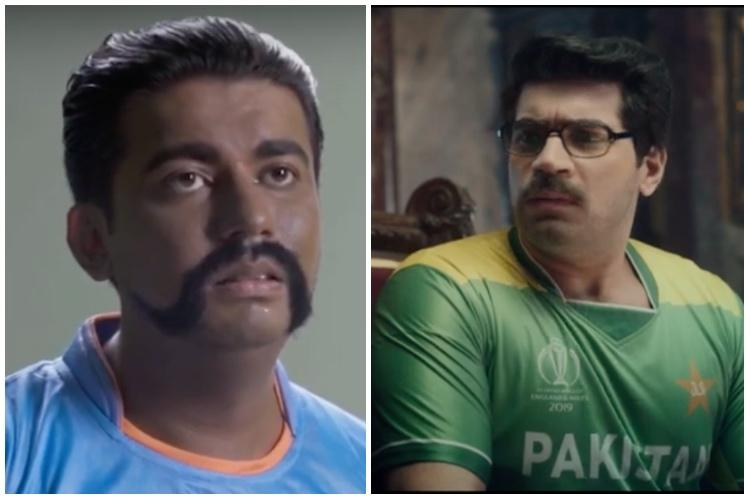 Ad war between India-Pakistan ahead of high-profile World Cup clash on Sunday