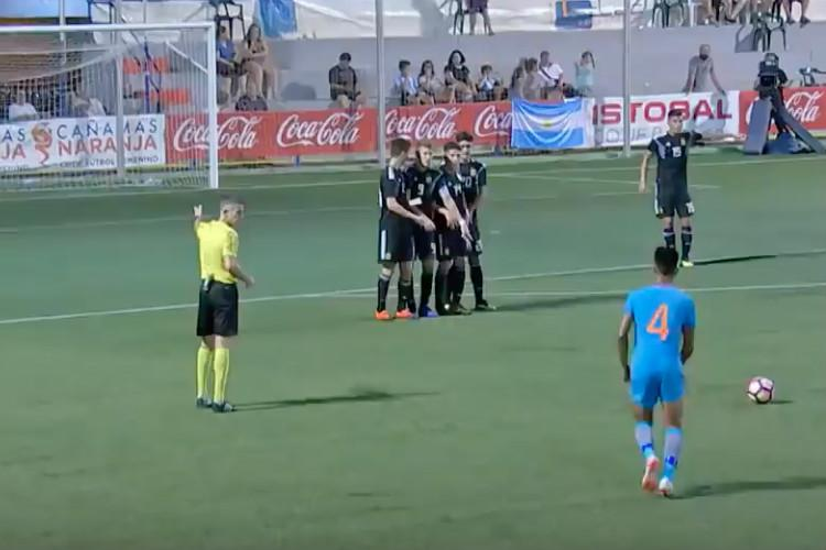 Indias U-20 football side secures historic win over 6-time World Champs Argentina