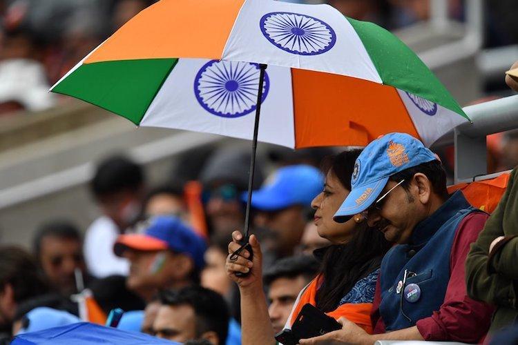 Rain halts play in India-New Zealand World Cup semifinal