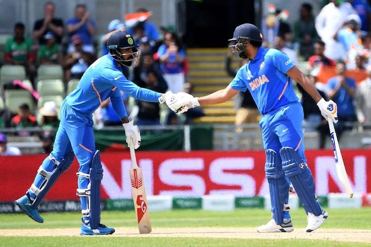 ICC World Cup Rohit Sharma century guides India to 314 vs Bangladesh