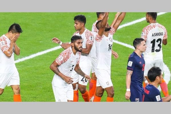 AFC Asian Cup India overpower Thailand in campaign opener