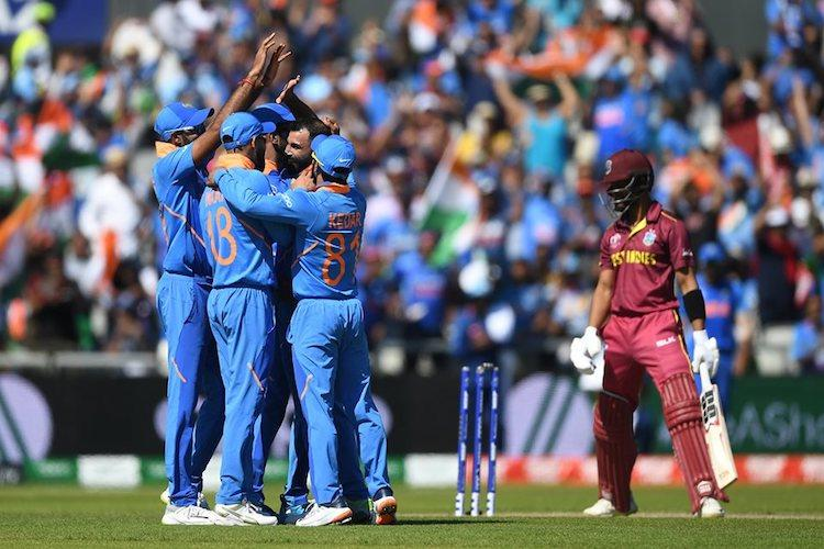 Clinical India thump West Indies by 125 runs maintain winning streak in World Cup