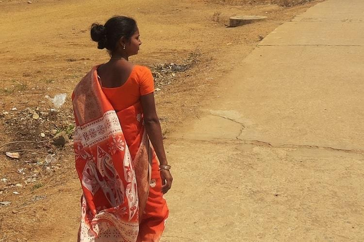 Dalit Karnataka woman is an anganwadi worker but shes not allowed to work