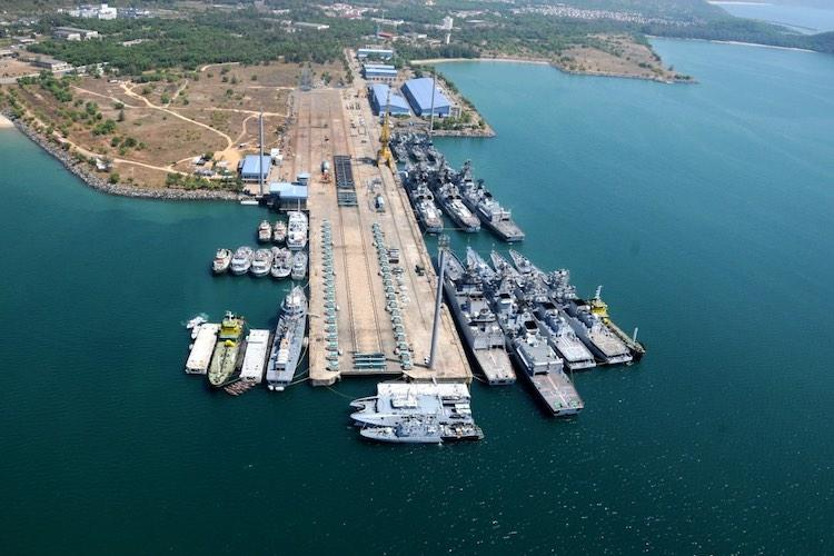 Not moving operations from Karwar Indian Navy on media reports