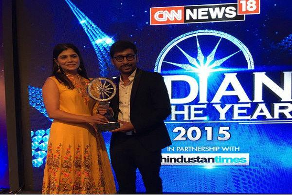 Watch RJ Balajis speech as People of Chennai win CNN-News 18s Indian of the Year award