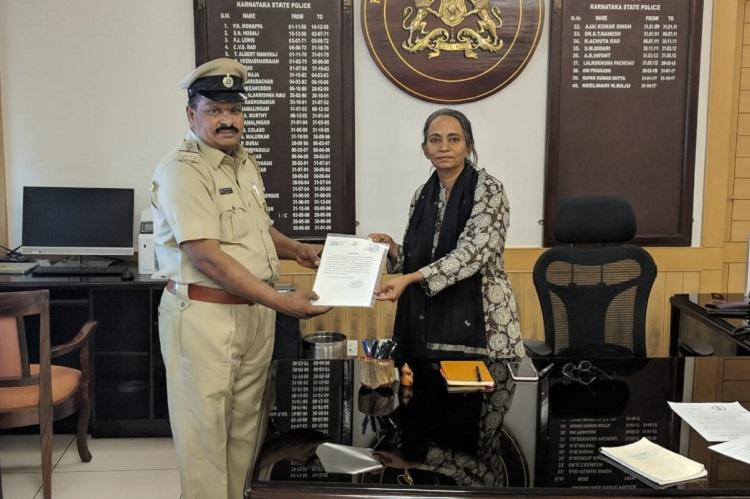 Bengaluru police inspector team rewarded for promptly saving woman who was stabbed