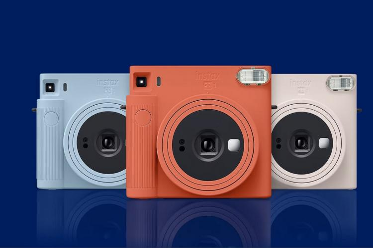 Instax Square SQ1 comes in three colours
