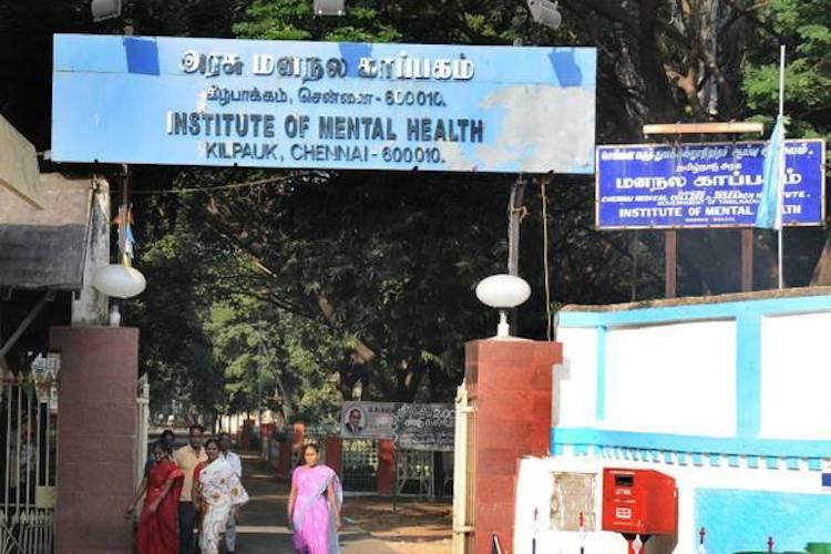 The Institute of Mental Health in Chennai