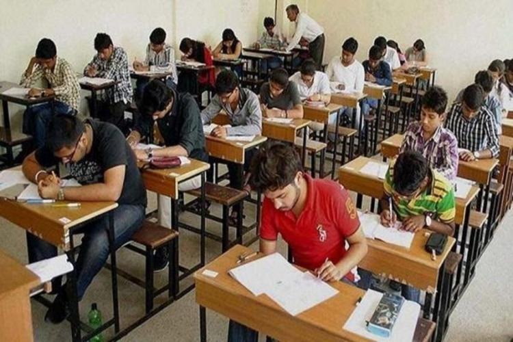 students give Intermediate exams