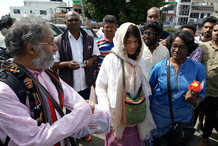Love trumps hate Irom Sharmila defies opposition gets married in Kodaikanal