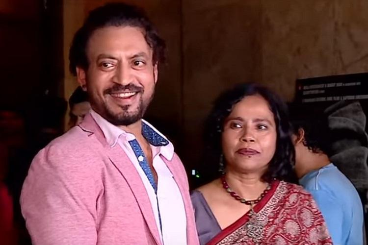 Irrfan has been fighting obstacles with grace and beauty Wife Sutapa Sikdar
