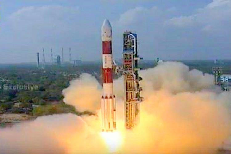ISRO hits a record century Launches PSLV C-37 with astounding 104 satellites