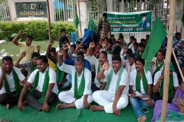 Tribals vs forest officers Attempt to transfer TS official opposing podu land digging