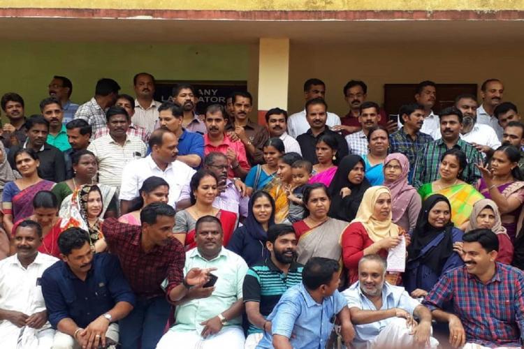 Class mates of 1990 sslc batch reunion Pallipuram HS