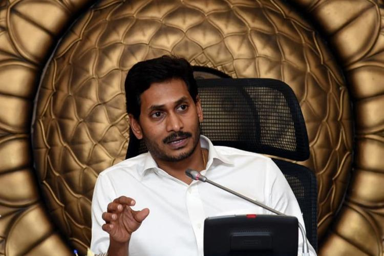Opposition fumes as AP govt orders Panchayat offices to be painted in YSRCP colours
