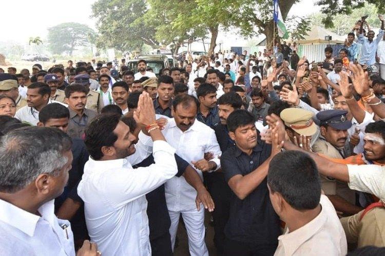 As Jagan resumes his padayatra 3-tier security put in place following knife attack
