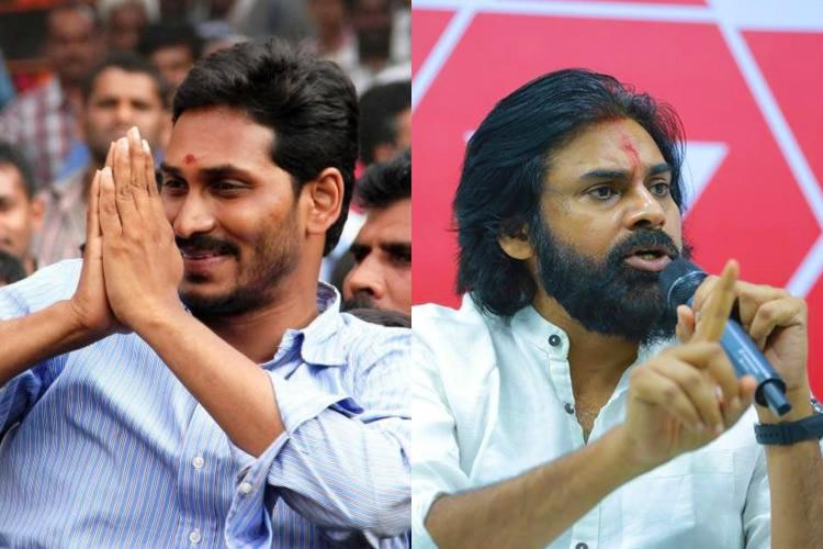 Telangana polls Jagan and Pawan seem willing to drop out than burn their fingers