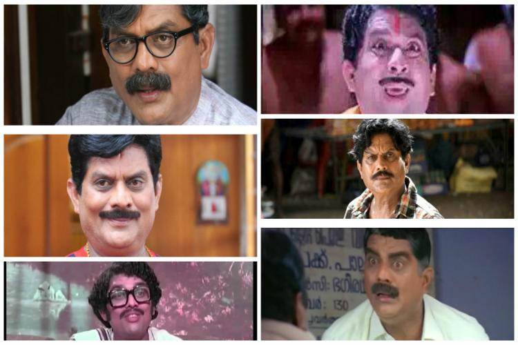 Actor Jagathy Sreekumar turns 65 a list of his top 10 performances